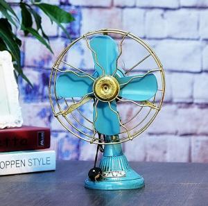 老式电风扇模型 金属...