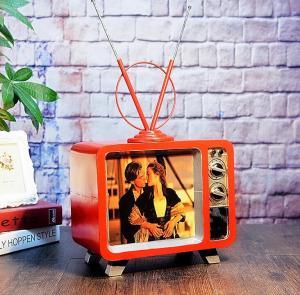 复古铁艺电视机模型 ...