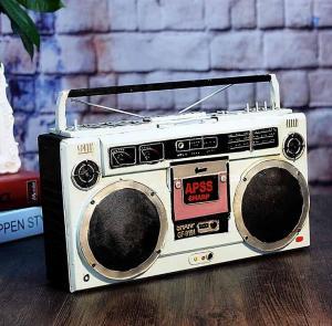 复古老式收音机摆件 ...