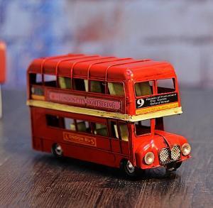 巴士模型复古工艺品 ...