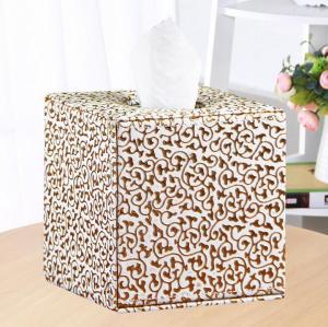 欧式风格皮革纸巾盒 ...