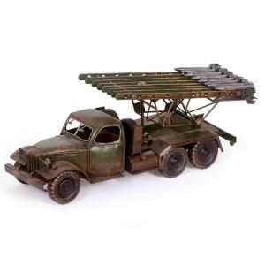 复古战车模型 金属工...