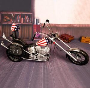 创意复古哈雷摩托车 ...