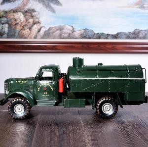 铁皮复古汽车卡车模型...