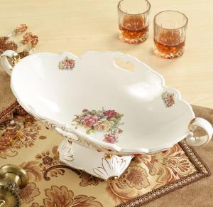 时尚创意陶瓷水果盘 ...