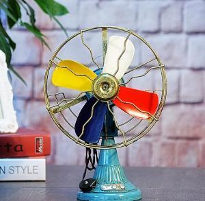复古创意电风扇摆件 ...