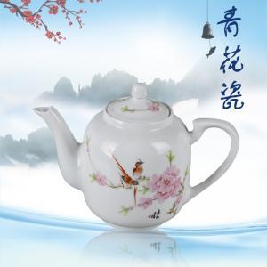 7头手绘釉上茶具(水...