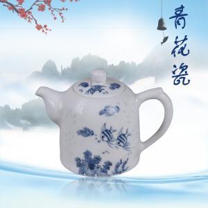 8头手绘玲珑茶具 茶...