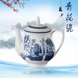 9头莲花古典园林茶具...