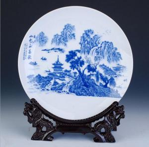 陶瓷装饰盘  陶瓷工...
